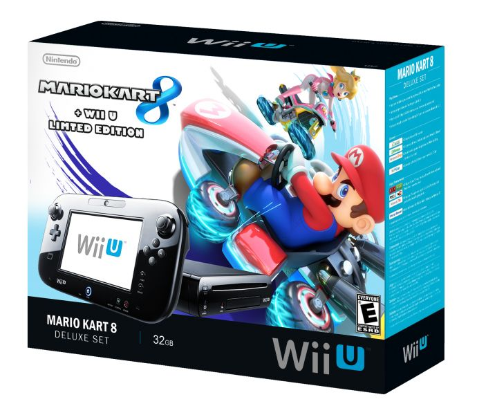 Mario Kart 8 Wii U Bundle box art cover by Mucrush