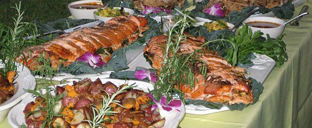 Summer Wedding Buffet Menu Ideas: Best Layout For A Wedding Dinner Banquet Style
