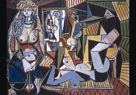 Pablo Picasso, Les femmes d'Alger, 1955