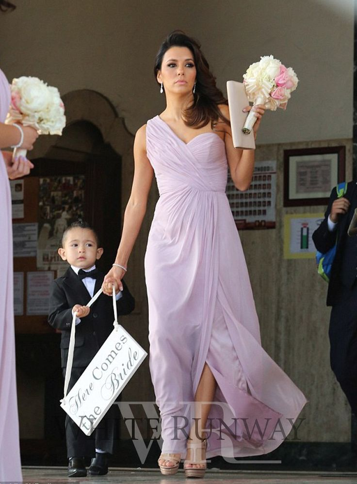 Elly Dress by Dessy Collections as Seen on Eva Longoria