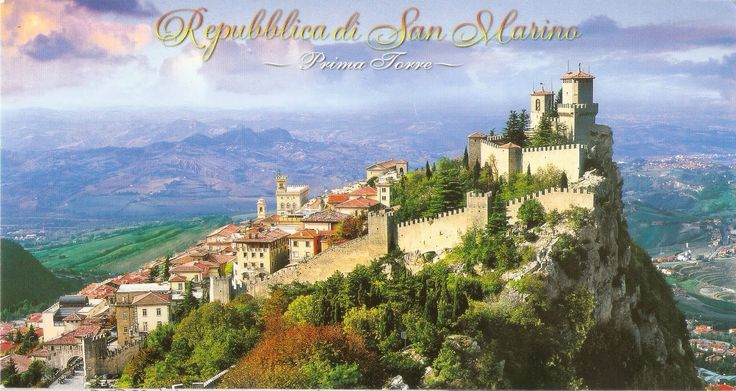 San Marino - San Marino Historic Centre and Mount Titano