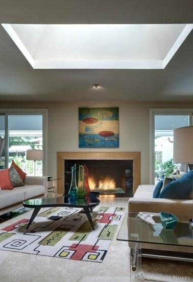 Mid Cetury Modern Living Room