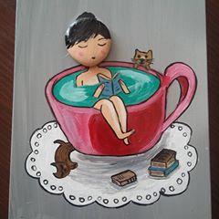 Eğitim şart  #stone #stoneart #taşboyamasanatı #tasboyama #cat #catstagram #catlover #tasiletablo
