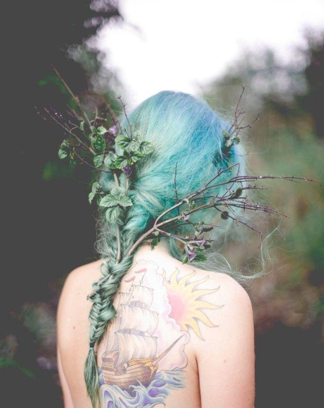 De Anastacia – Katie Jackson • Dark Beauty Magazine #faerie