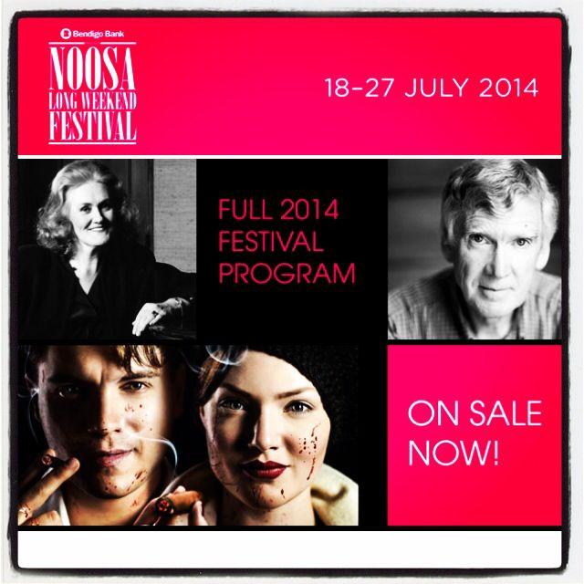 Noosa Long Weekend Festival full program noosalongweekend.com