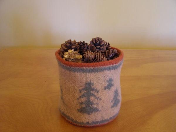 Pine tree bowl