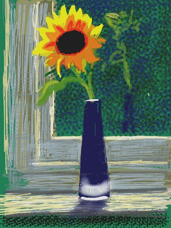 David Hockney iPad