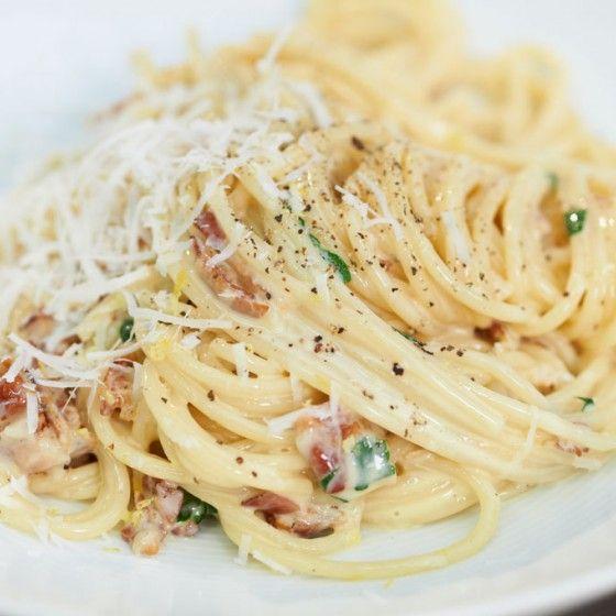 ESSEN & TRINKEN - Spaghetti carbonara Rezept