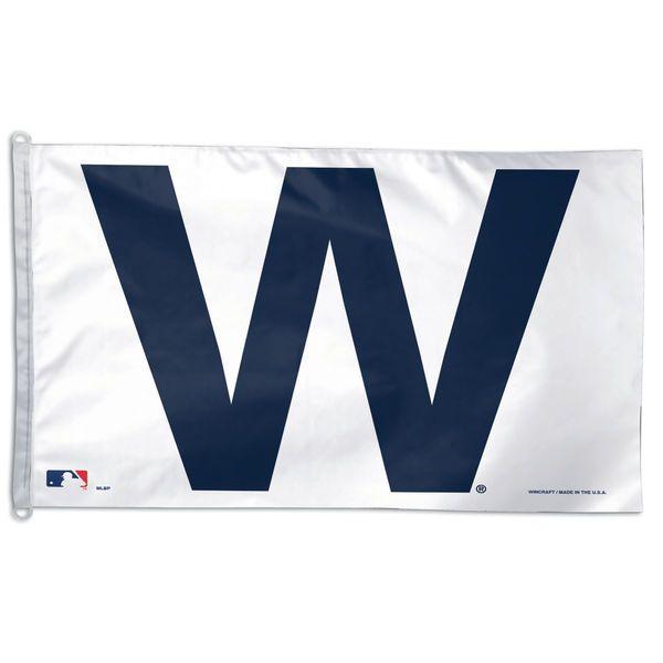 "Chicago Cubs WinCraft 27"" x 37.5"" W Horizontal Flag"
