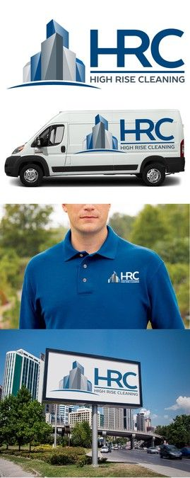 Create a logo for High Rise Cleaning, a commercial janitorial company in Austin, Texas by alexros