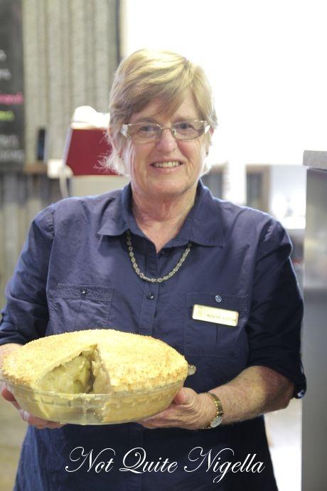 Sutton's apple pie.