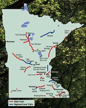 Bike Trails Around Minnesota - Travel and Leisure - Minneapolis, St. Paul, Minnesota