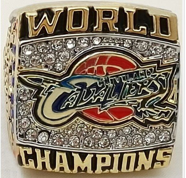 Lebron James 2016 Cleveland Caveliers NBA Championship Replica Ring