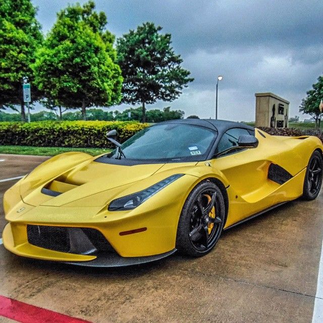 La Ferrari Follow @Ferrari_Automotive  Freshly Uploaded To www.MadWhips.com  Photo by @supercars_oftx