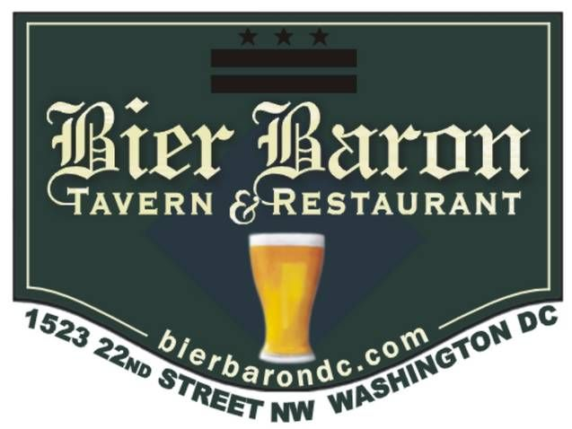 Had dinner at the Bier Baron Tavern today.   It was delicious!  HUGE selection of Beer, and suprising food selection.  I had grilled salmon on a bed of fresh vegetables... next time you are in DC, check it out.