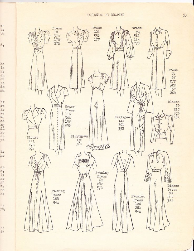 I found this draping book at my school library (among others) and have finally gotten around to scanning it as I can't find a copy for sale ...