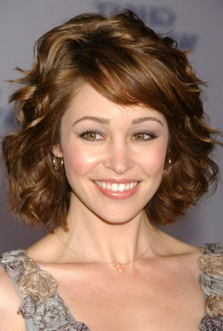Thick wavy short hairstyles photo - 10