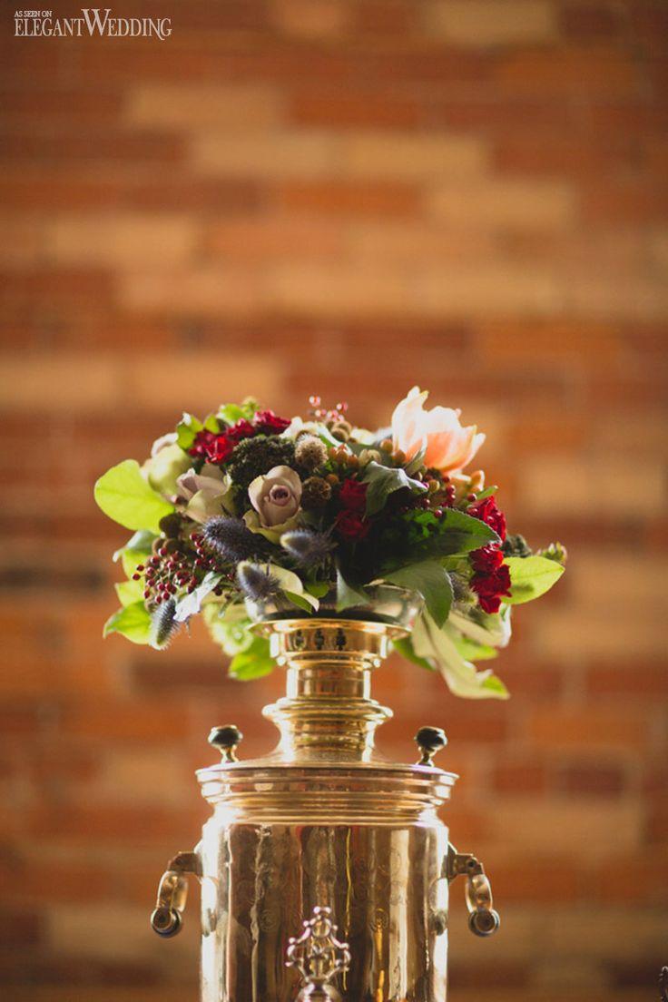 Russian inspired wedding flowers | RECREATING RUSSIA WEDDING INSPIRATION | Elegant Wedding