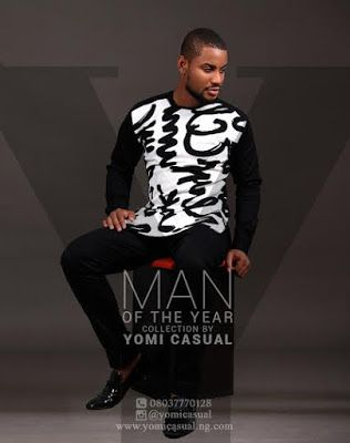 """Get your festive mood on as Nigerian fashion brand, Yomi Casual unveils his latest collection titled 'Man of the Year' just in time for the holidays. The collection offers a wide range of comfortable contemporary outfits suitable for elegant ladies and noblemen. They include tunics with geometric shapes, refined monochrome, vibrant print designs and lots … Continue reading """"Yomi Casual Unveils Man Of The Year Collection Modeled By Celebs [Photos]"""""""