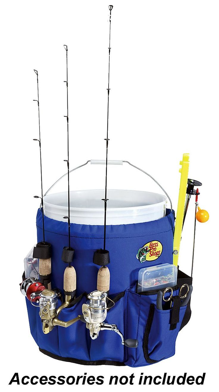 Bass pro shops bucket caddy shops buckets and bass for Fishing caddy bucket