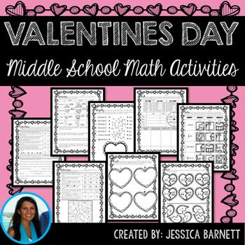middle school math valentine 39 s day activities teachers pay teachers math solving equations. Black Bedroom Furniture Sets. Home Design Ideas
