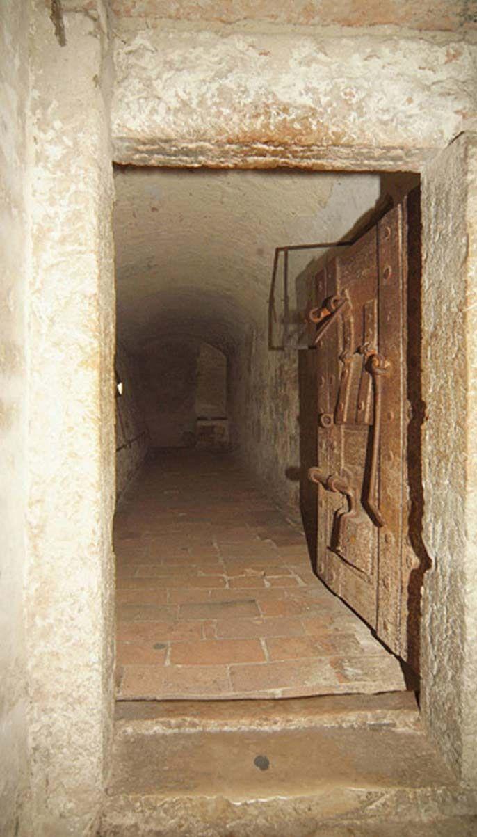Dungeon Door ~ Castello Estense ~ 14th Century Italy