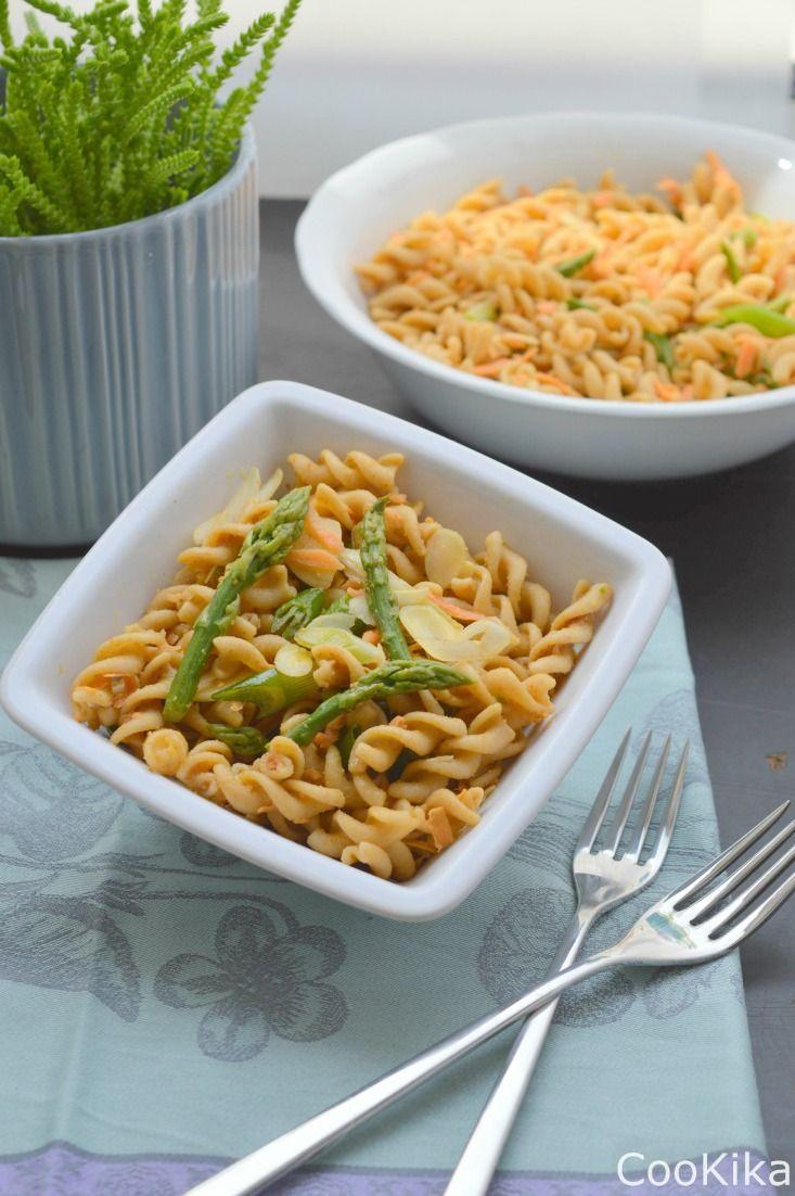 Pasta Salad with Asparagus.