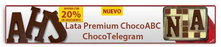 ¡ChocoABC son Letras Grandes en Chocolate! M de Maria, A de Amistad.... http://www.mysweets4u.com/es/?o=2,5,190,0,0,0