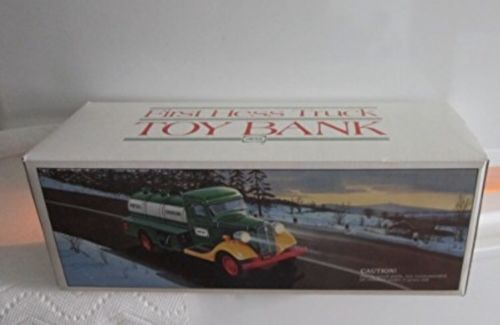 Vintage 1985 First Hess Truck Toy Bank NIB NEW