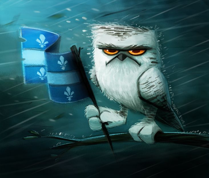 Day 582. Happy St-Jean Baptiste Day by Cryptid-Creations.deviantart.com on @deviantART