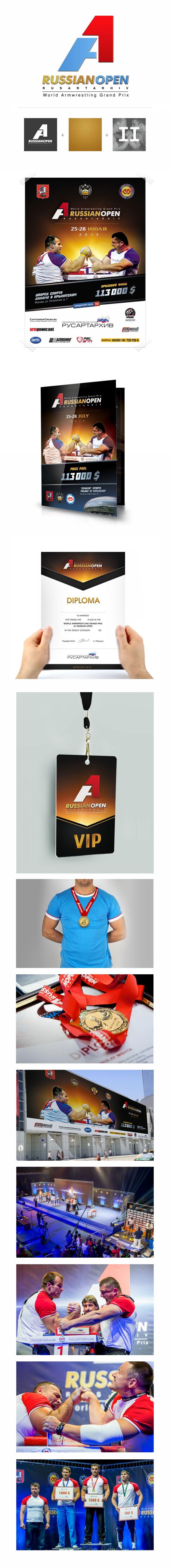 A1 Russian Open 2013 identity