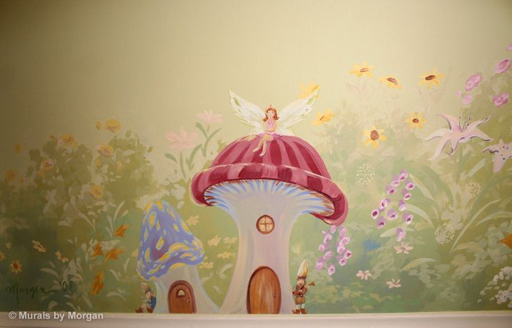 77 best images about emma 39 s room on pinterest friends for Fairy tale mural