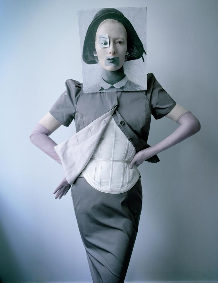 """Tilda Swinton in """"The Surreal World"""" photographed by Tim Walker for W Magazine, December 2014"""