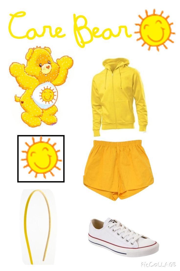yellow care bear costume ☀️