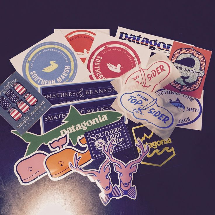 Southern Prep on a Budget: How to get free preppy stickers!