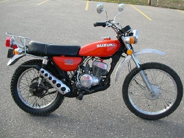 Suzuki 125 TS de 1976