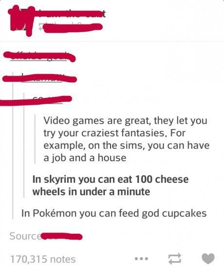 So I guess Pokemon takes the cake < pinning for the comment.
