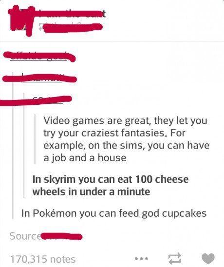 So I guess Pokemon takes the cake