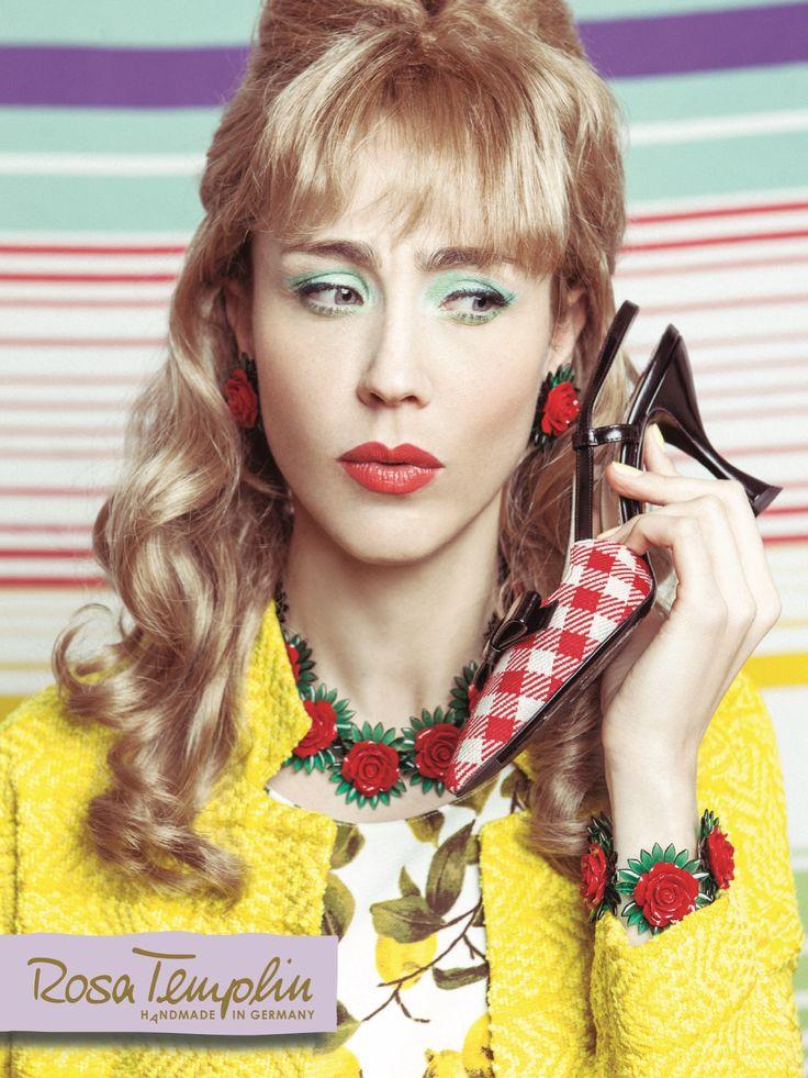New Website Online ROSA TEMPLIN Jewellry Photography Marie Schmidt H/MU Eva Mittmann Styling by me