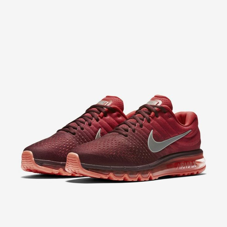 Original Factory Goods of this Nike Air Max 2017 Men Mesh Red hot sale