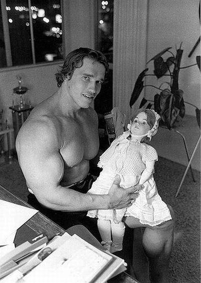Rare Photos: Political Figure and Terminator Arnold Schwarzenegger