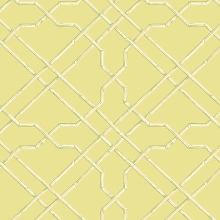 I Pinned This Bamboo Trellis Wallpaper In Green Beige And