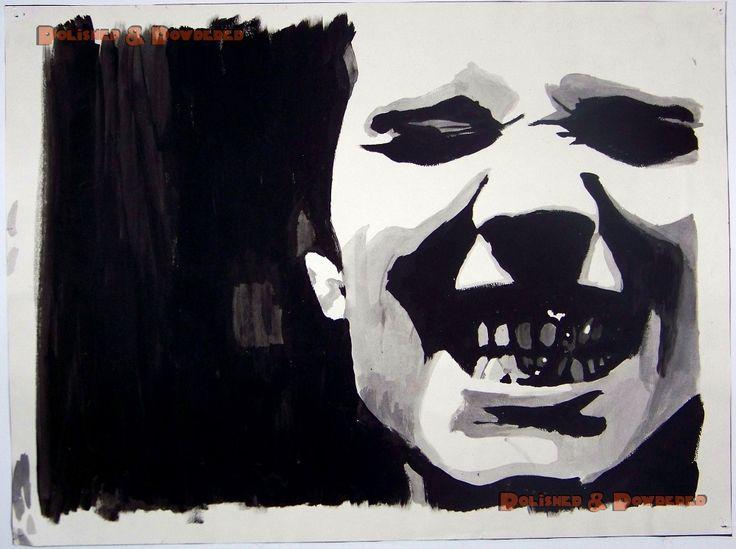 Billy Corgan (high school painting)
