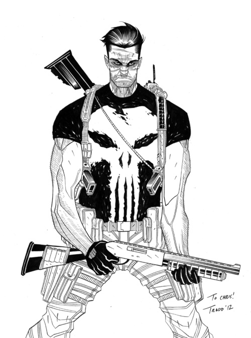 The Punisher by Tradd Moore