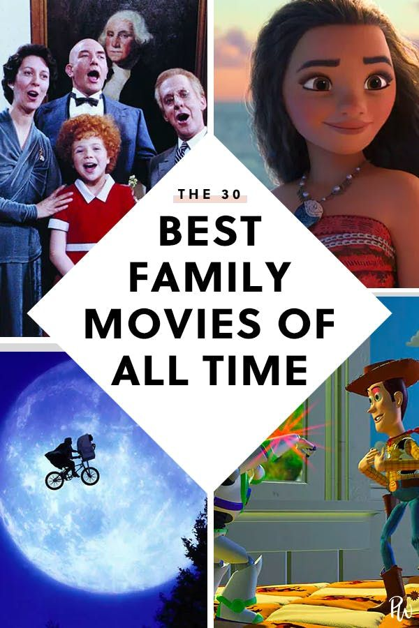 The 34 Best Family Movies Of All Time Family Movies Best Kid Movies Family Movie Night