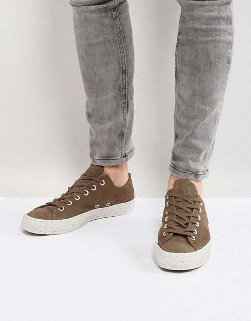 427f95b7494 Converse Chuck Taylor All Star Ox Sneakers In Brown 157601C ...
