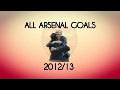 All Arsenal Goals of the Season :)