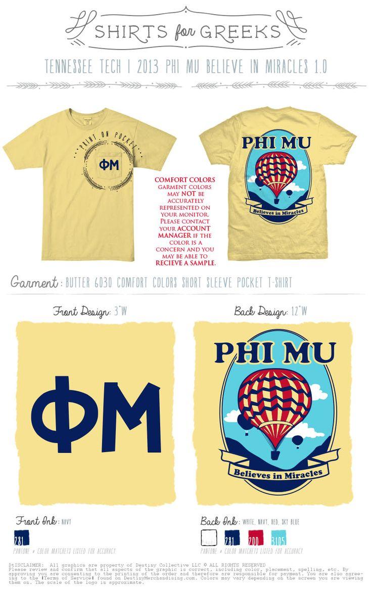 Shirt design jackson tn - Tennessee Tech Phi Mu Shirts For Greeks Philanthropy Phimu Shirtsforgreeks