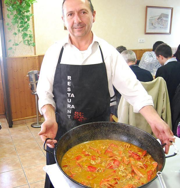 Arroz caldoso con bogavante (Divina Pastora, Alicante)