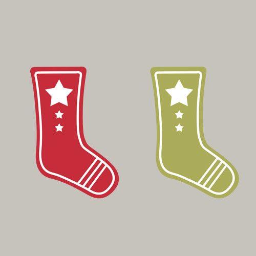 Advent, Socken, Weihnachten, Etikett, Stampin´Up! Stempeln, Craft, basteln, stampin https://www.facebook.com/Colorspell
